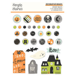 simple stories Spooky Nights - Decorative Brads