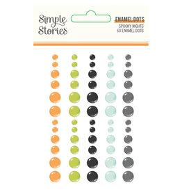 simple stories Spooky Nights - Enamel Dots