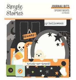 simple stories Spooky Nights - Journal Bits