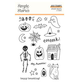 simple stories Spooky Nights - Stamps