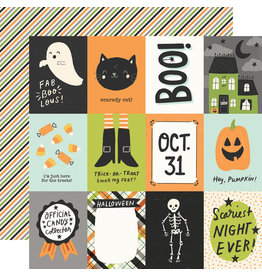 simple stories Spooky Nights Paper - 3x4 Elements