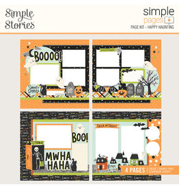 simple stories Spooky Nights Simple Pages Page Kit - Happy Haunting