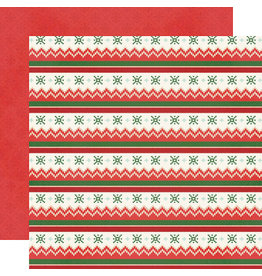 simple stories Ugly Christmas Sweater  Paper- Eat, Drink and Be Tacky