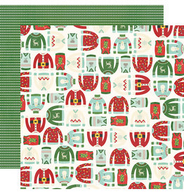 simple stories Ugly Christmas Sweater  Paper- It's Getting Ugly