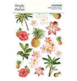simple stories Simple Vintage Coastal: Sticker Book