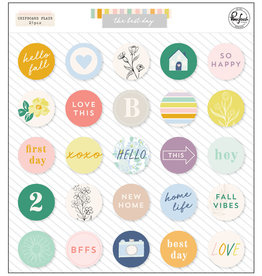 Pink Fresh The Best Day: Chipboard Flair