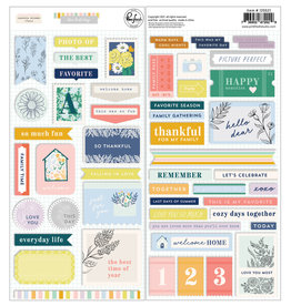 Pink Fresh The Best Day: Cardstock Stickers