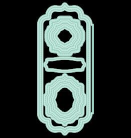 LDRS Elegant Stitched Frames Slimline Dies