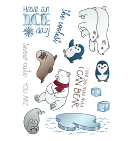 LDRS Have an Ice Day 4x6 Stamps