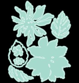 LDRS Layered Poinsettia Dies
