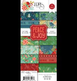 LDRS Peace & Joy 4x9 Paper Pack