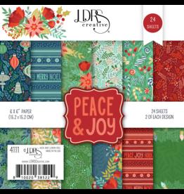 LDRS Peace & Joy 6x6 Paper Pack