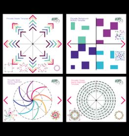 LDRS Pirouette Pattern Templates