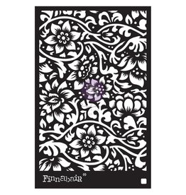 PRIMA MARKETING INC Finnabair Stencil: 6X9 Bindweed  Wallpaper