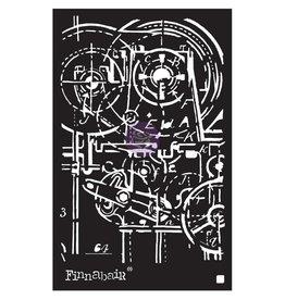PRIMA MARKETING INC Finnabair Stencil: 6X9 Machinery