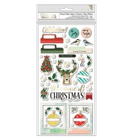 american crafts Warm Wishes: Thickers Phrases
