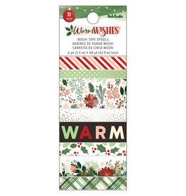 american crafts Warm Wishes: Washi (8 Rolls)