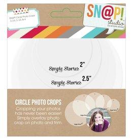 simple stories Photo Crop: Circle