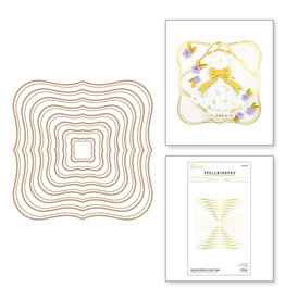 spellbinders Essential Glimmer Classic Label Hot Foil Plates