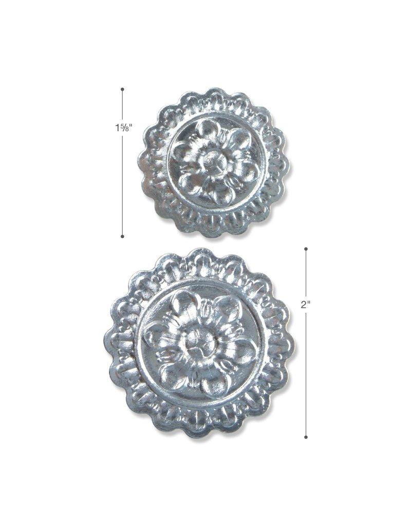 sizzix 3D Impresslit Embossing Folder: Medallion