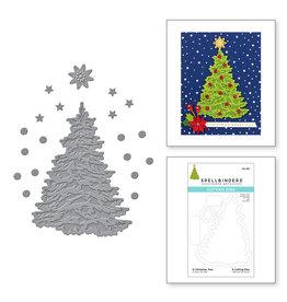 spellbinders O Christmas Tree Die