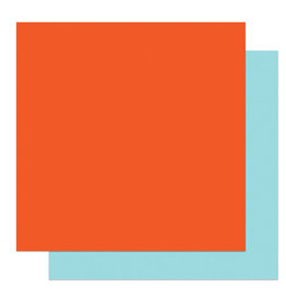 Photoplay Gnome Calendar: Solids + Dk Orange/Lt Teal