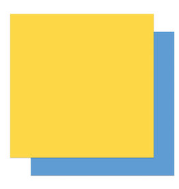 Photoplay Gnome Calendar: Solids + Yellow/Blue