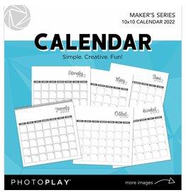 Photoplay Maker Series: 10x10 Calendar 2022