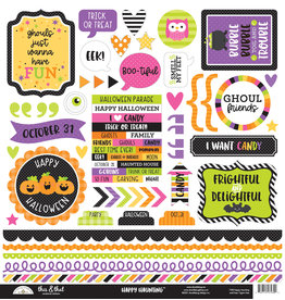 DOODLEBUG happy haunting: this & that stickers
