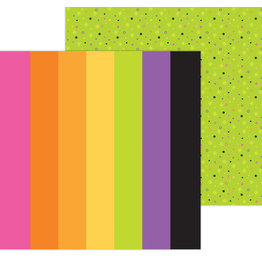 DOODLEBUG happy haunting: spooky spectrum double-sided cardstock