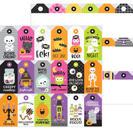 DOODLEBUG happy haunting: spook-tag-ular double-sided cardstock