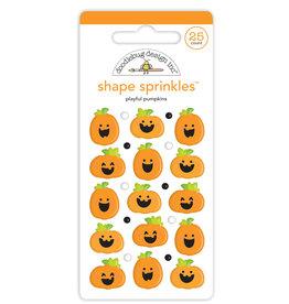 DOODLEBUG happy haunting: playful pumpkins shape sprinkles