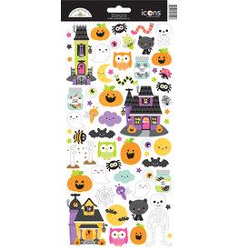 DOODLEBUG happy haunting: icons stickers