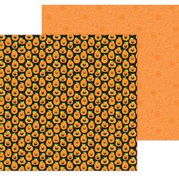 DOODLEBUG happy haunting: hello pumpkin double-sided cardstock