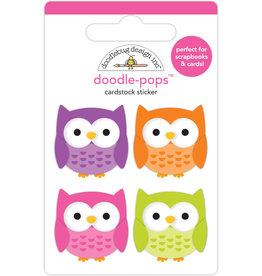 DOODLEBUG happy haunting: happy owl-o-ween doodle-pops