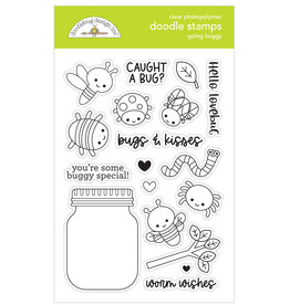 DOODLEBUG happy haunting: going buggy doodle stamps
