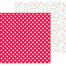 DOODLEBUG fun at the park:mini dot double-sided cardstock