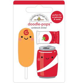 DOODLEBUG fun at the park :let's ketchup doodle-pops