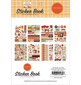 Carta Bella Welcome Autumn: Sticker Book
