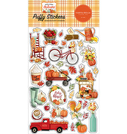Carta Bella Welcome Autumn: Puffy Stickers