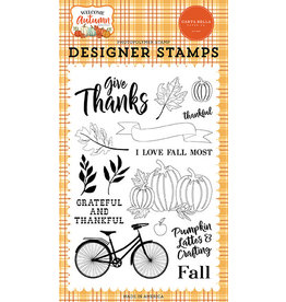 Carta Bella Welcome Autumn: I Love Fall Most Stamp Set