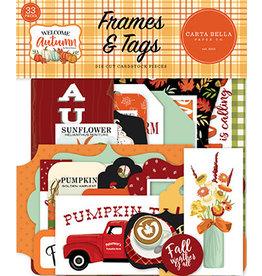 Carta Bella Welcome Autumn: Frames & Tags