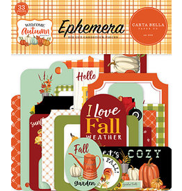 Carta Bella Welcome Autumn: Ephemera