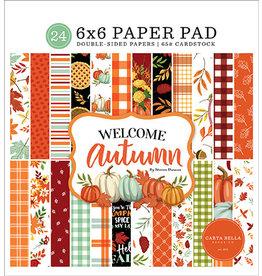 Carta Bella Welcome Autumn: 6x6 Paper Pad