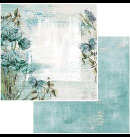 49 & Market Vintage Artistry Teal Paper: Bloom