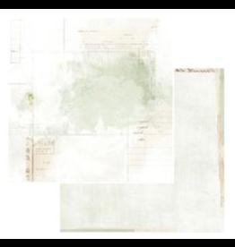 49 & Market Vintage Artistry Sage Paper: Echoes