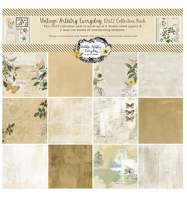 49 and Market Vintage Artistry Everyday 12x12 Collection pack