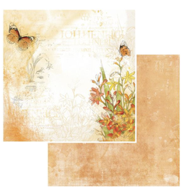 49 and Market Vintage Artistry  Mango Paper: Ginger Peach