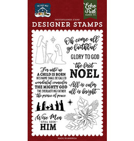 Echo Park The First Noel:  Stamp Set