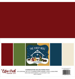 Echo Park The First Noel:  Solids Kit